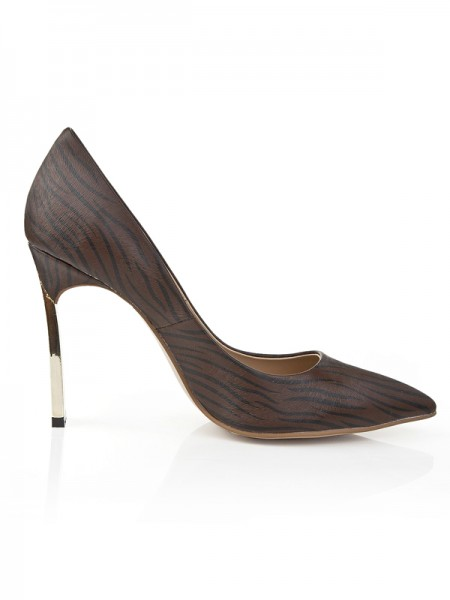 With Leopard Print Office High Heels S5LSDN1183LF