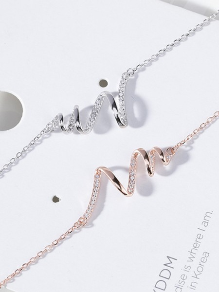 Women's Lovely S925 Silver Hot Sale Necklaces
